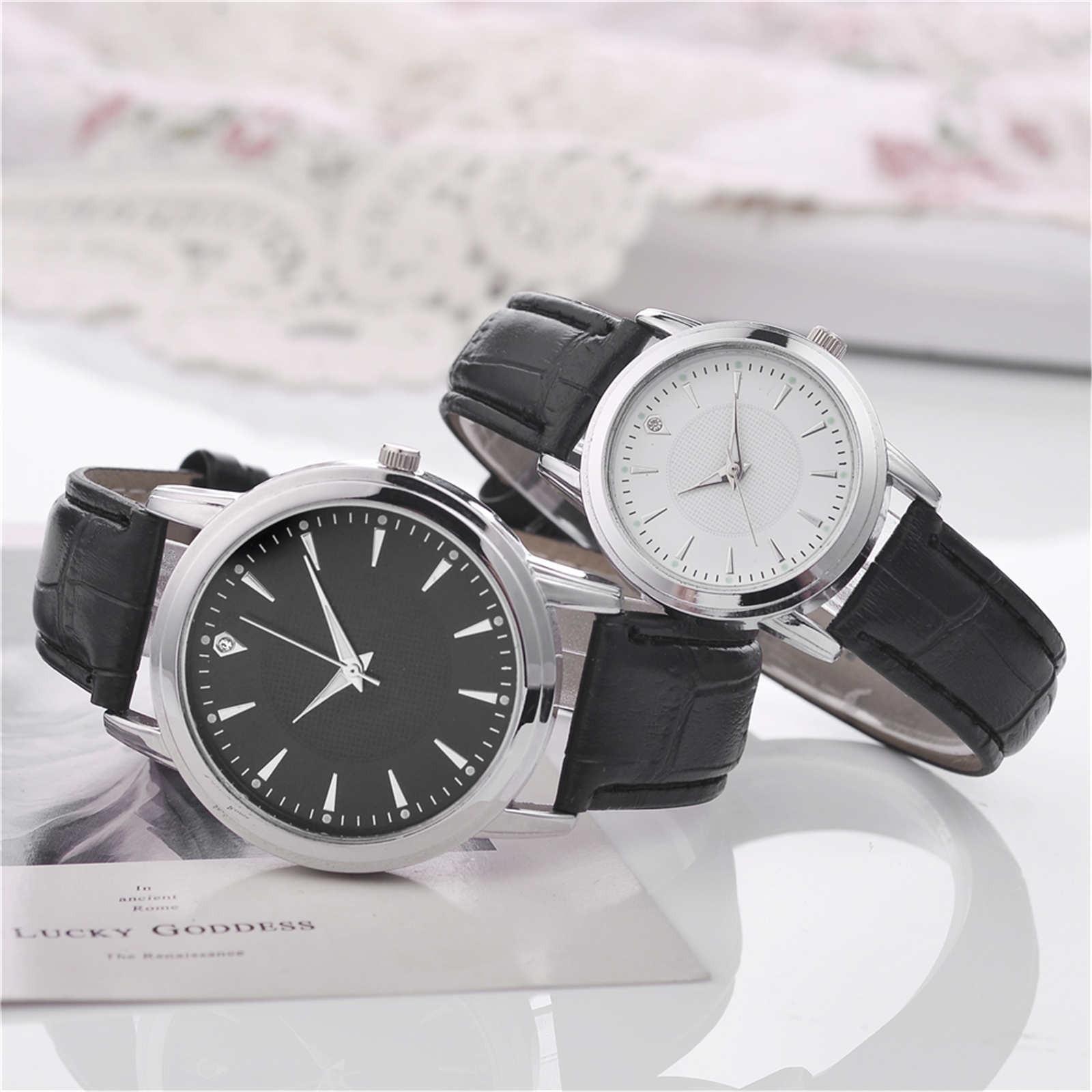 Luxury Watches Quartz Men's Watches Leather Strap 2021