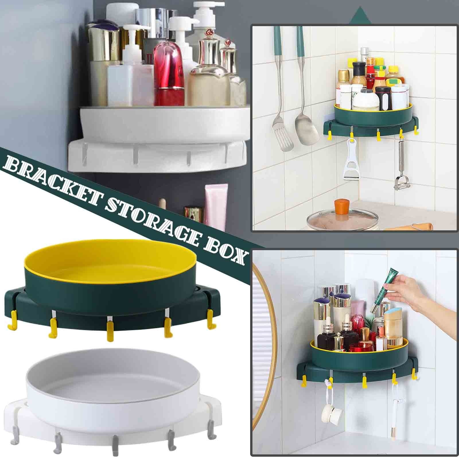 Mount free Rotatable Bathroom Organizing Rack