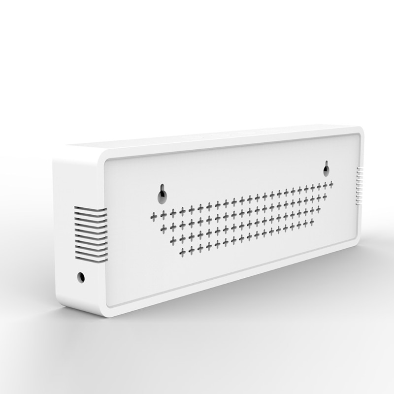 sensor fixado na parede medidor de co2