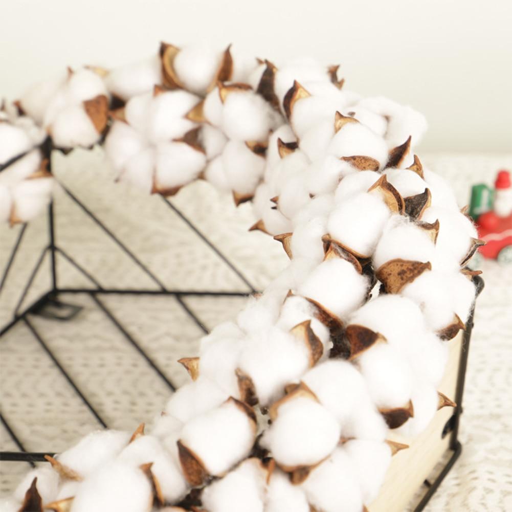 decoração de casa festival natal algodão grinalda