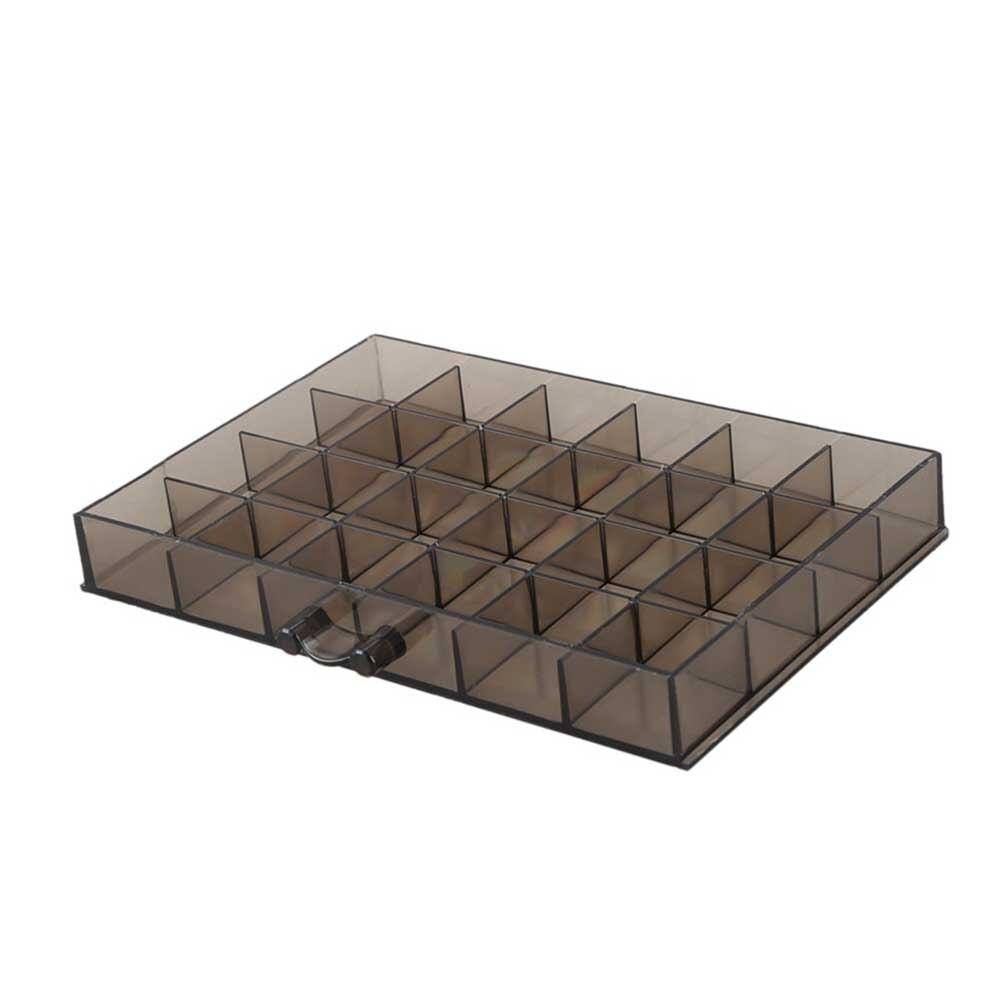 120 grades casa acrílico caixa de armazenamento