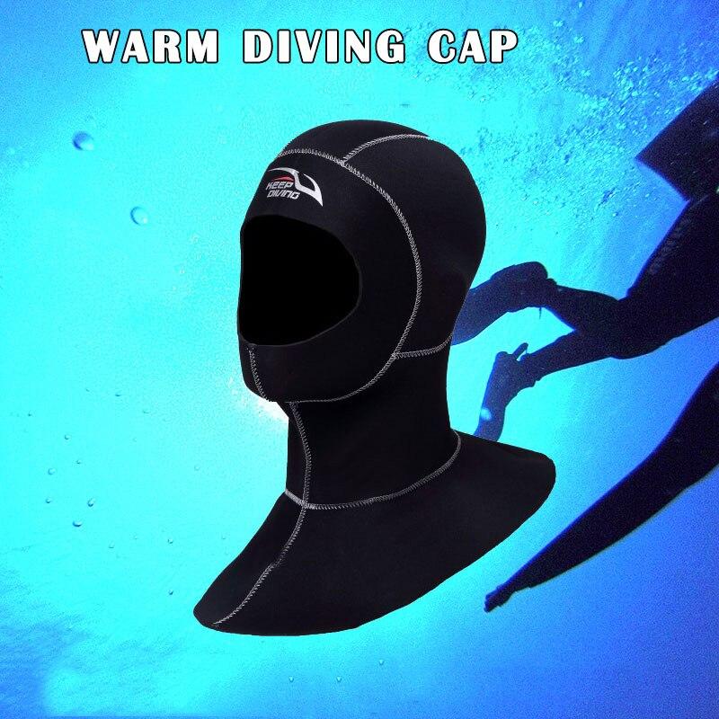 3mm neoprene mergulho capuz com ombro wetsuit
