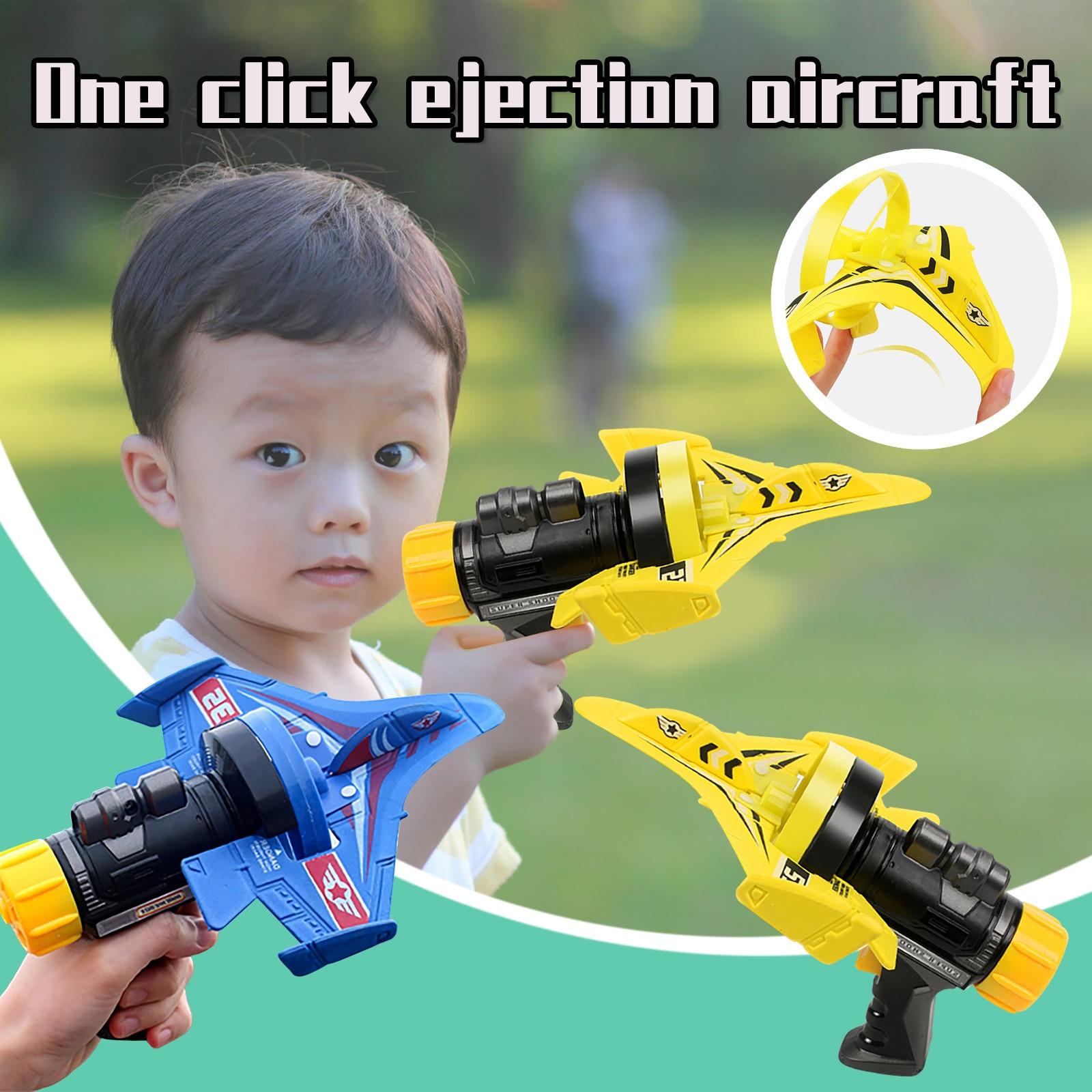 One Click Catapult Bubble Plane
