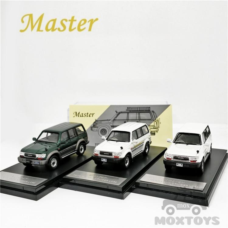 Carro master 1:64 toyota land cruiser lc80