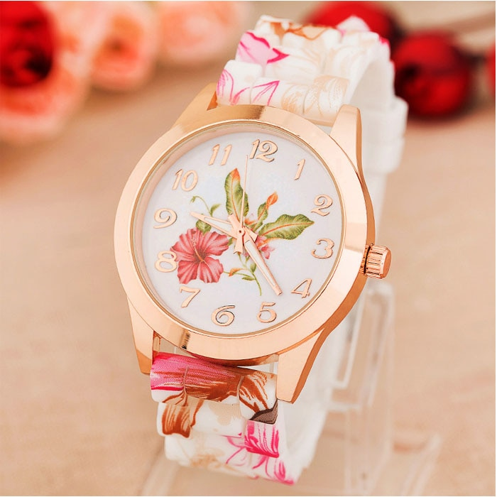 Watches For Girl Wristwatch Silicone Printed 2021 Watch