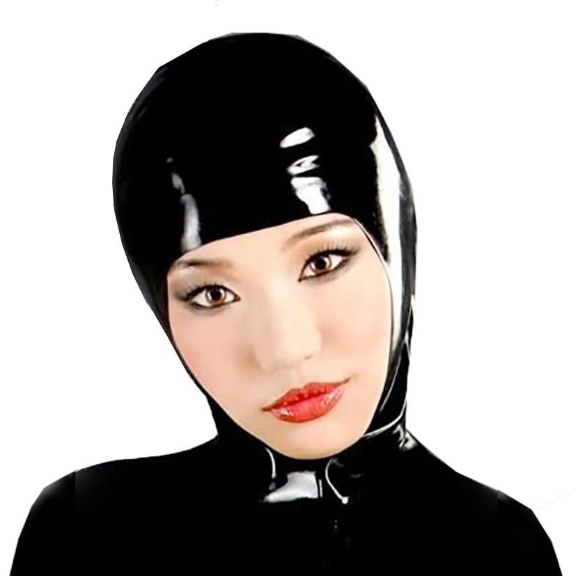 Máscara de látex máscara de rosto aberto