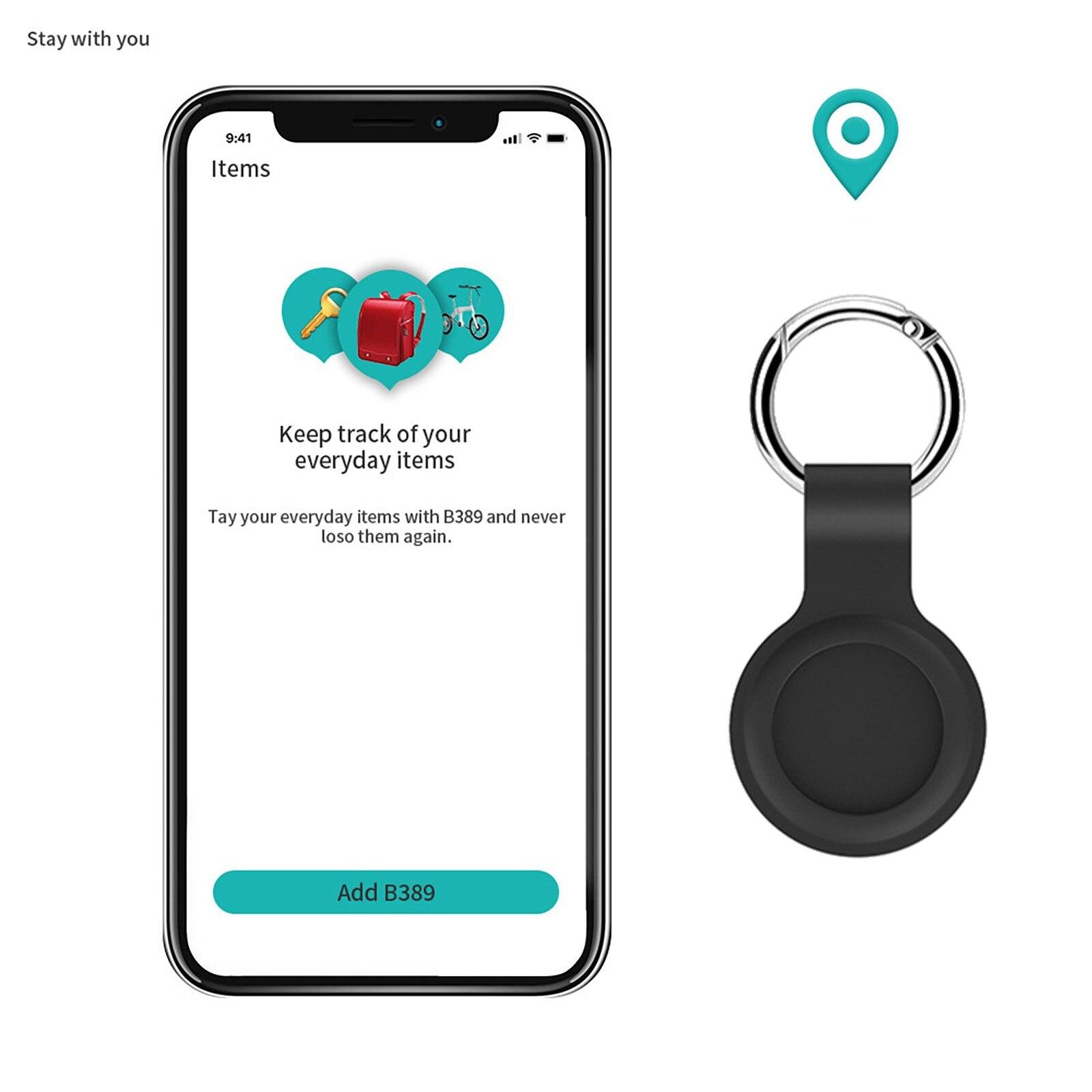 2021 Untuk Apple Airtag Case Silicone Pelindung Lengan Cover Gantungan Kunci Airtags-tracker 1PC Silicone Case untuk Airtags Aksesoris
