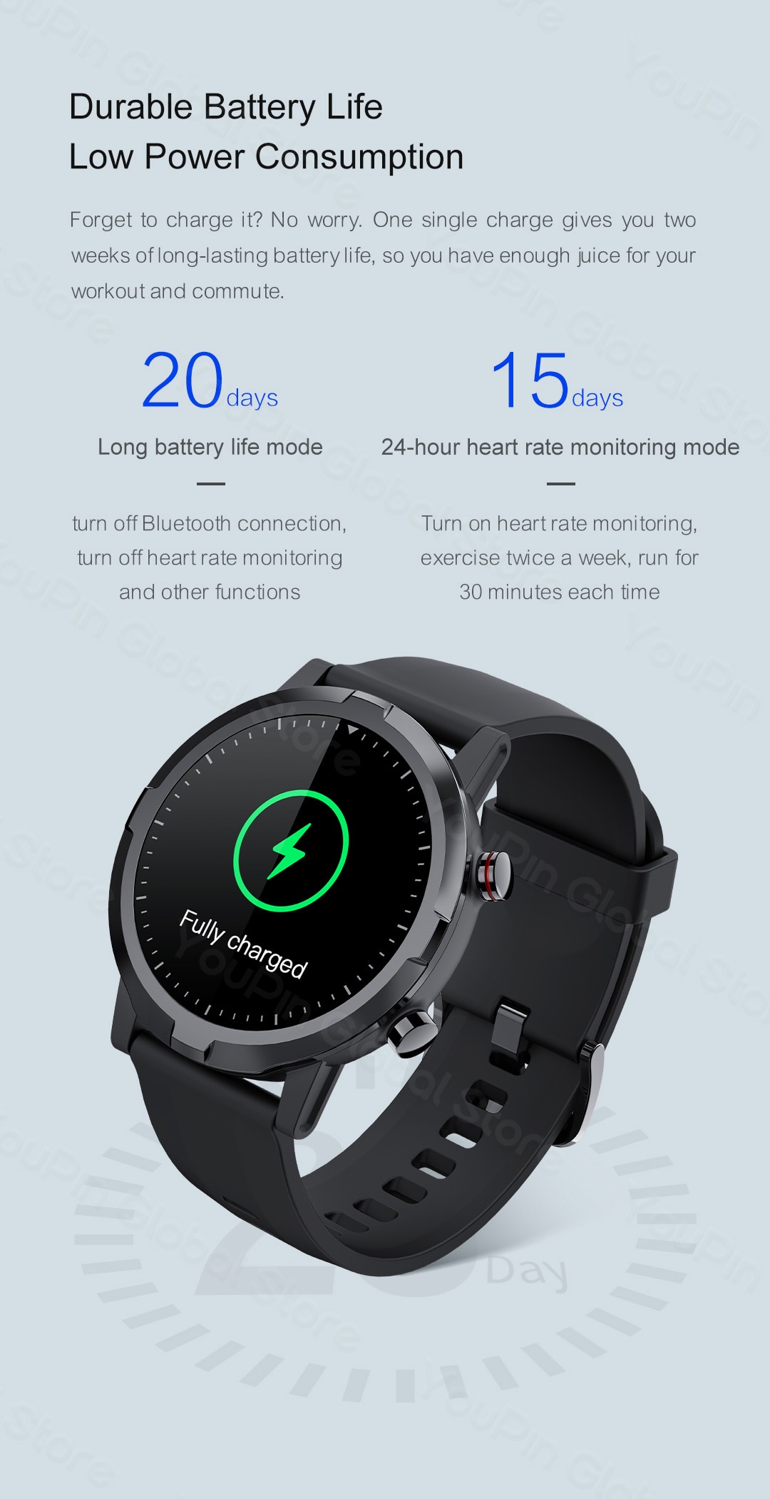 Haylou RT LS05S Smartwatch 9