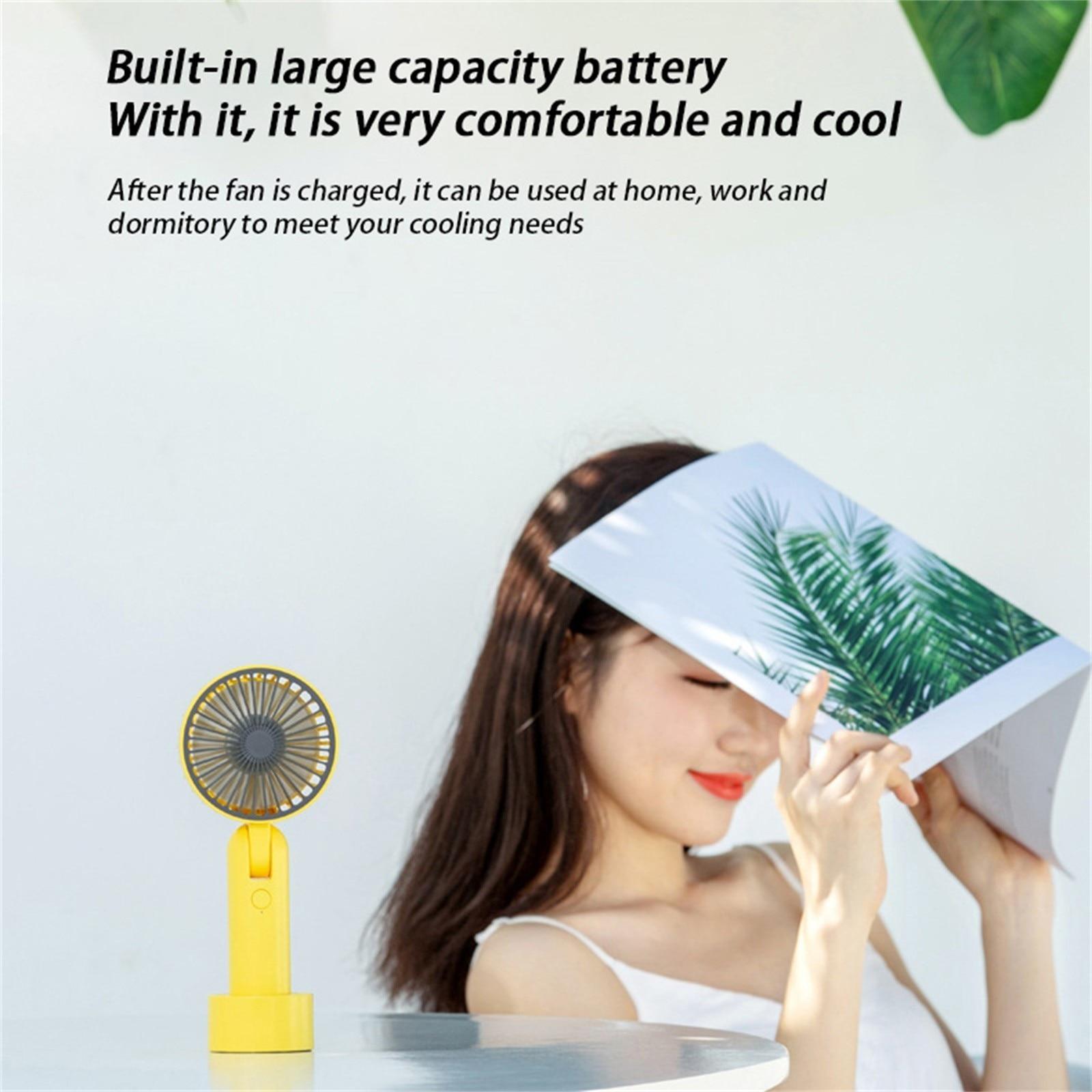 Mini ventilador portátil para ventilador handheld usb