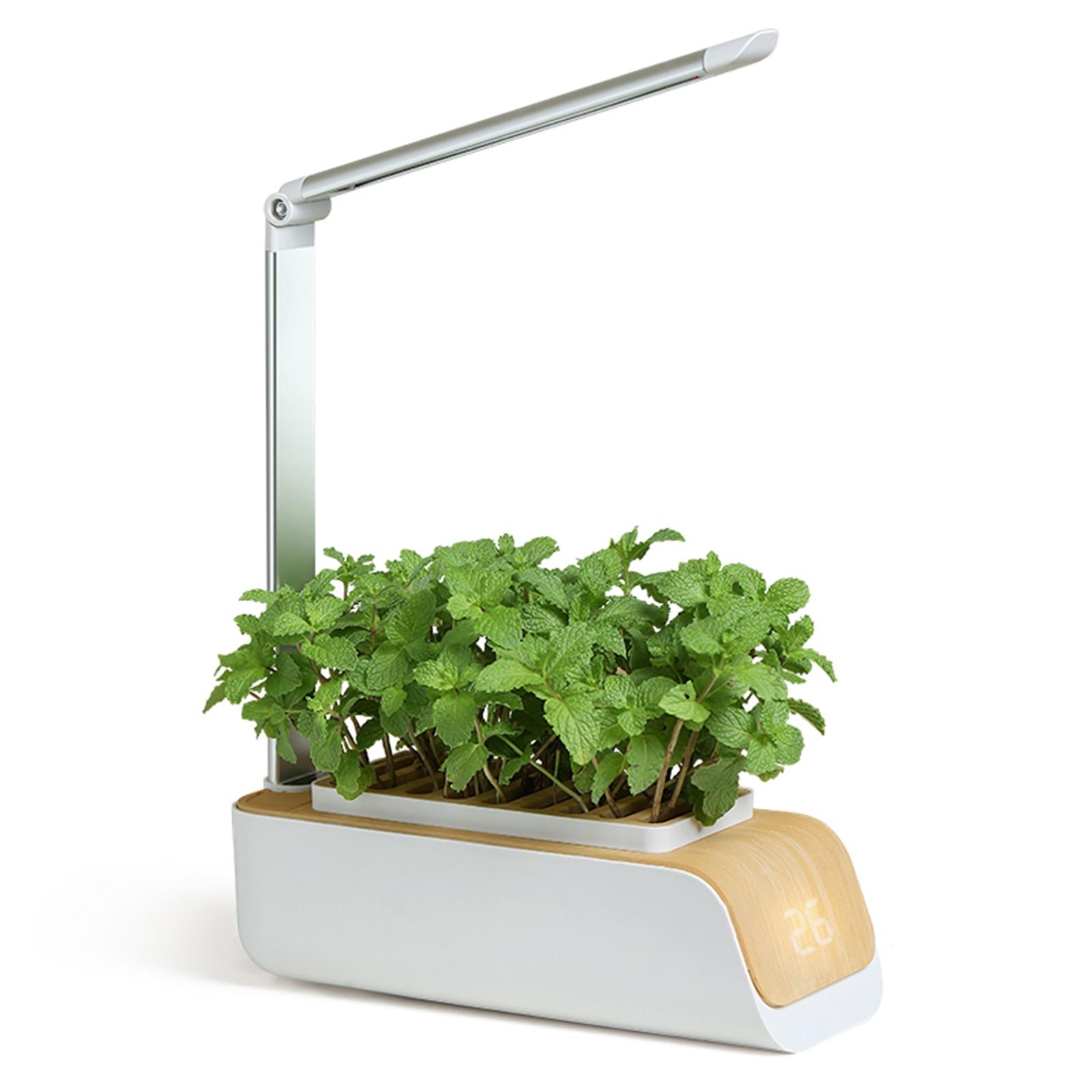 Hydroponics Growing System Garden Smart Garden Planter LED Grow Light Kit