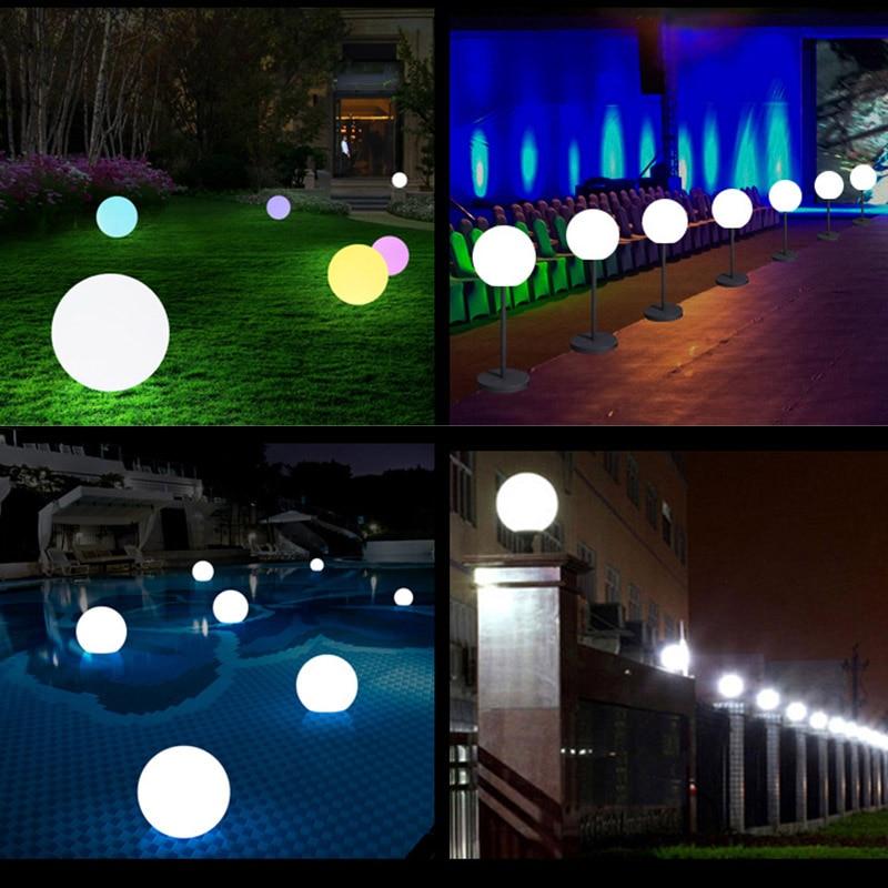 piscina jardim decoração luz dropshipping