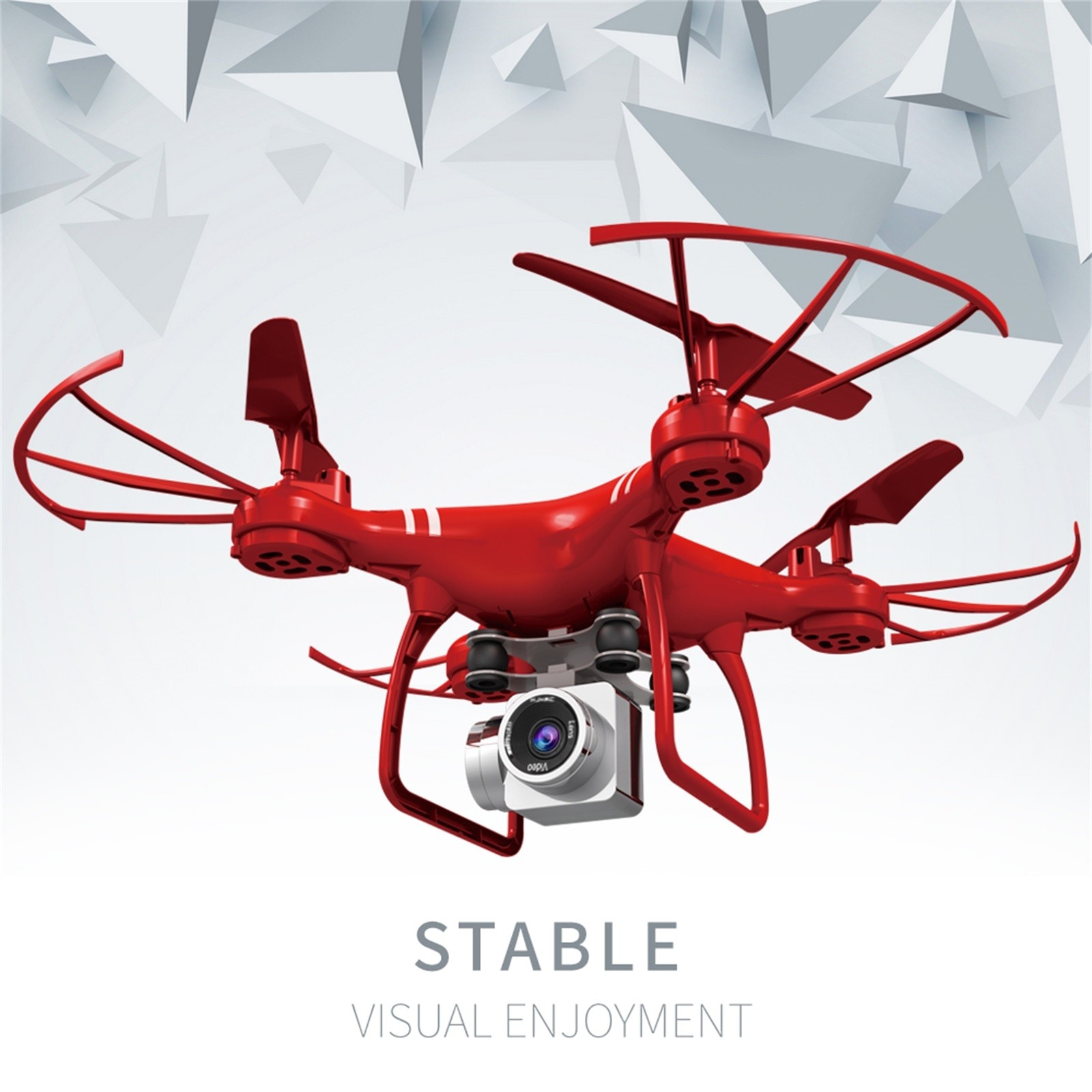 Hd68104fbf63340cb895c752d234787a0O - Hjhrc Four-axis Aerial Photography Aircraft Drone With Camera Hd 4k Wifi Fpv Foldable Drone Height Holding Headless Quadcopter
