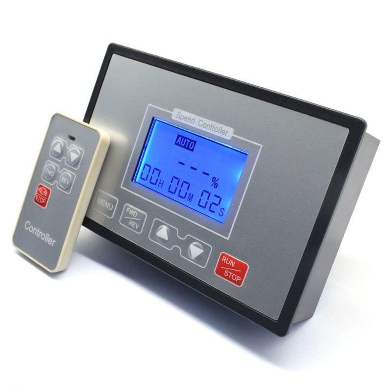 Lcd inteligente display digital 0 adjustable 100%