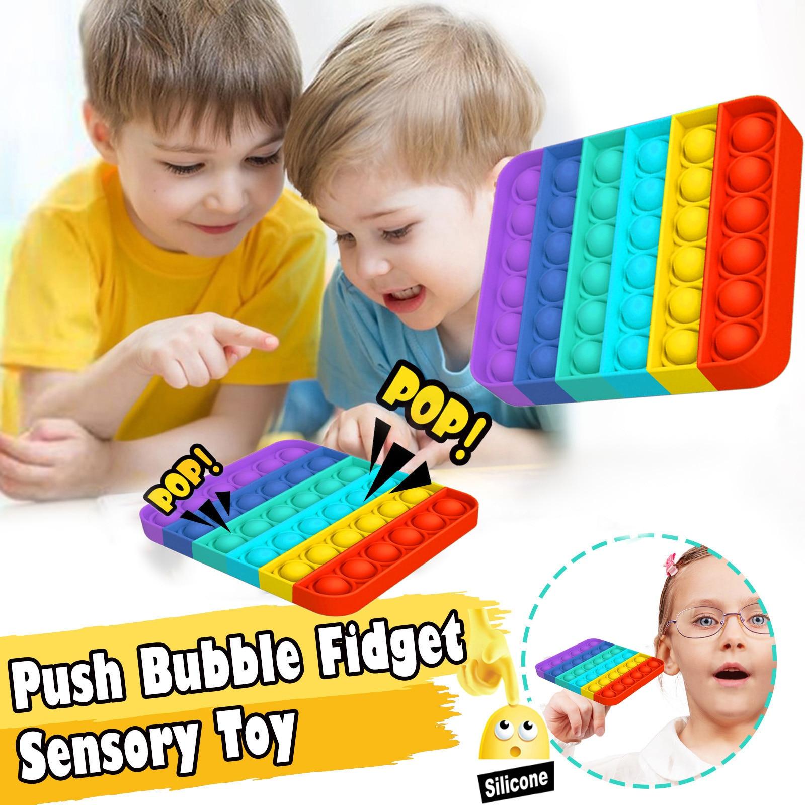 Push Pop Bubble Sensory Toy