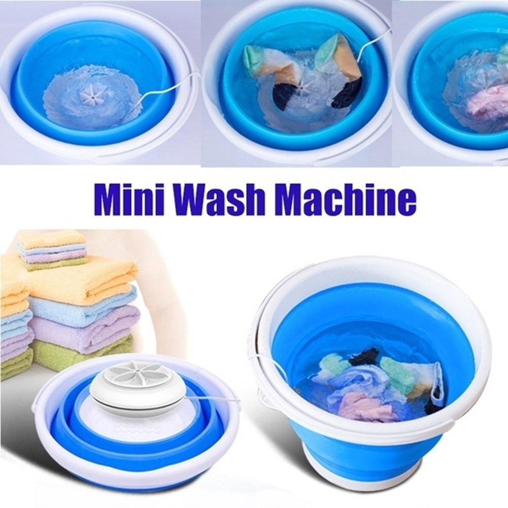 Dobrável lavanderia banheira bacia portátil mini máquina