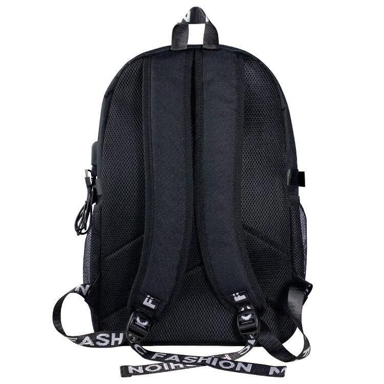 animados náilon mochilas escolares sacos de viagem