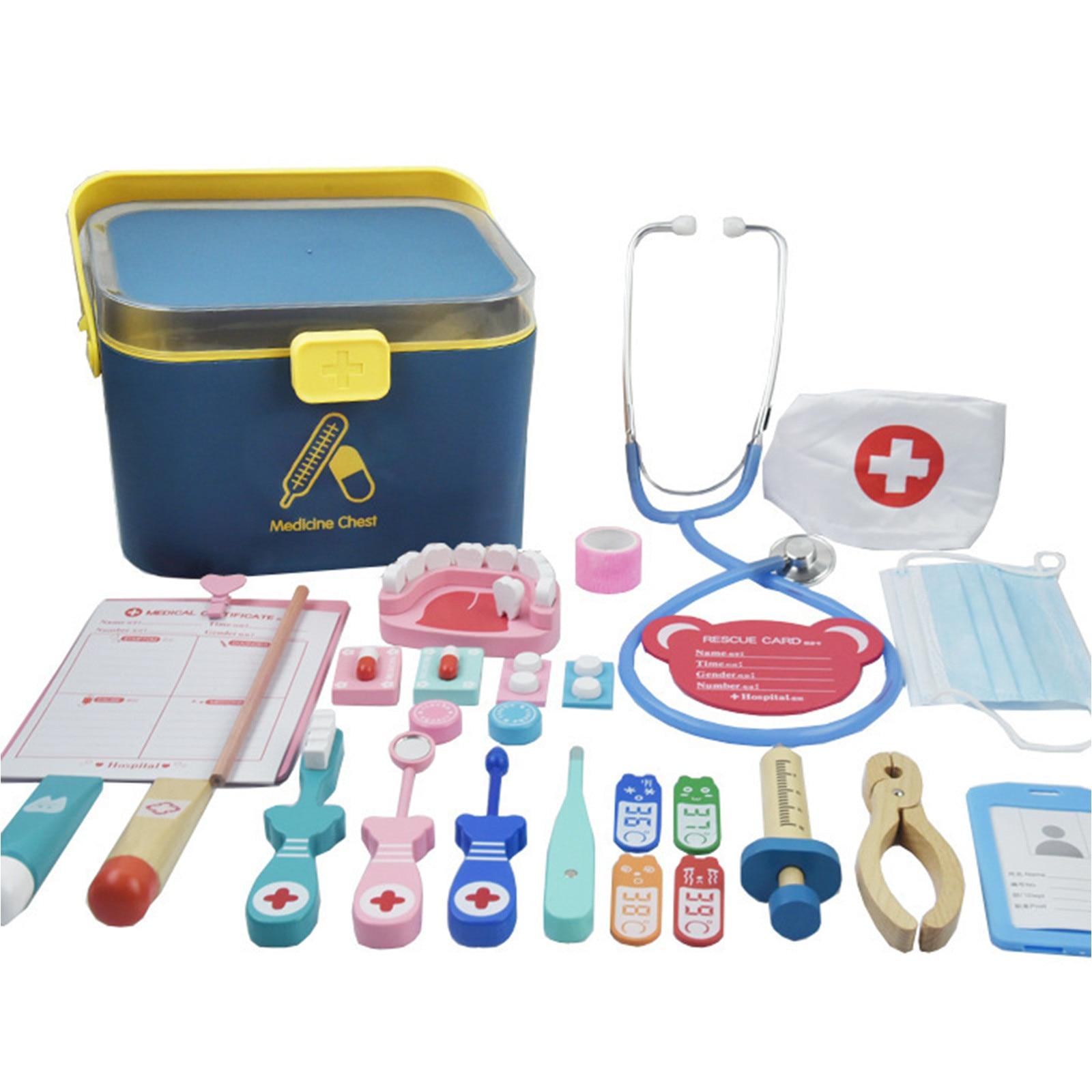 e menina, estetoscópio injeção, enfermeira, feminino, simulação