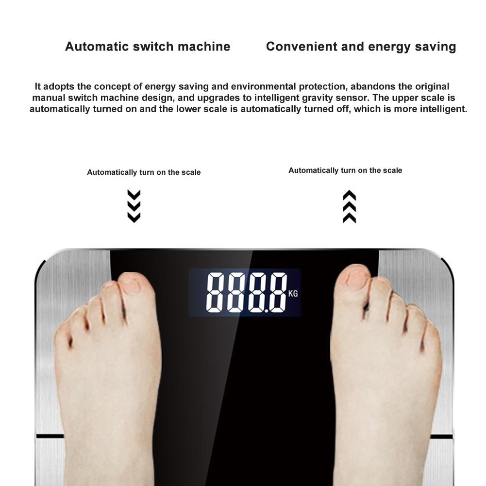 corporal recarregável do peso do banheiro de
