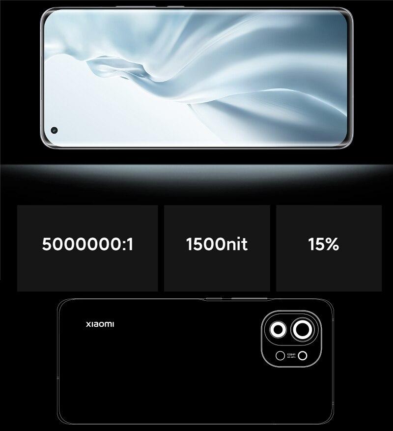 Mi 11 8+256 Smartphone