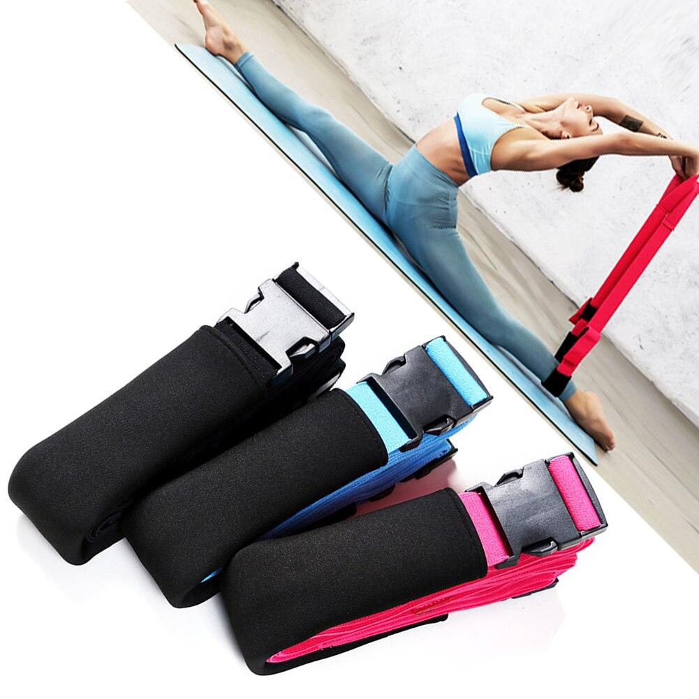 cinta ajustável comprimento treinamento musculação esportes estiramento