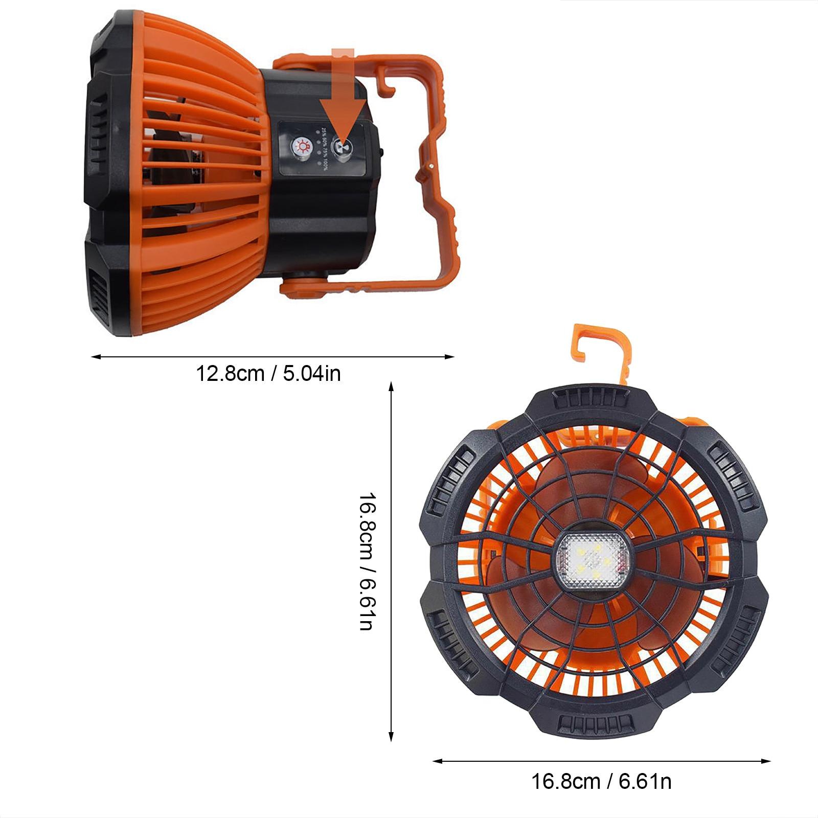 Carprie novo ventilador de luz ao ar