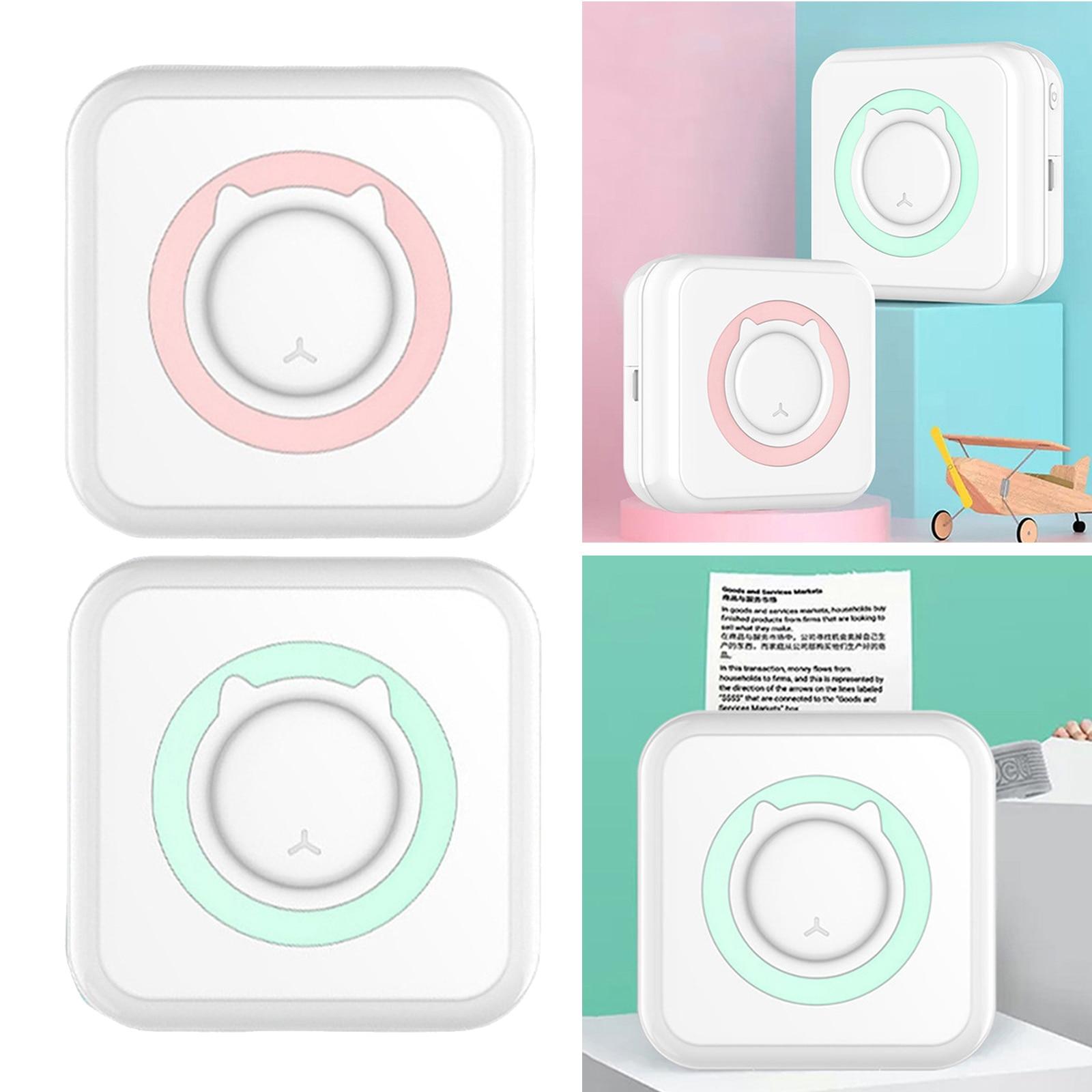 Wireless Label Printer Bluetooth Mini Portable Pocket Thermal Photo Tag Price Sticker Printer Printing Home Office Use