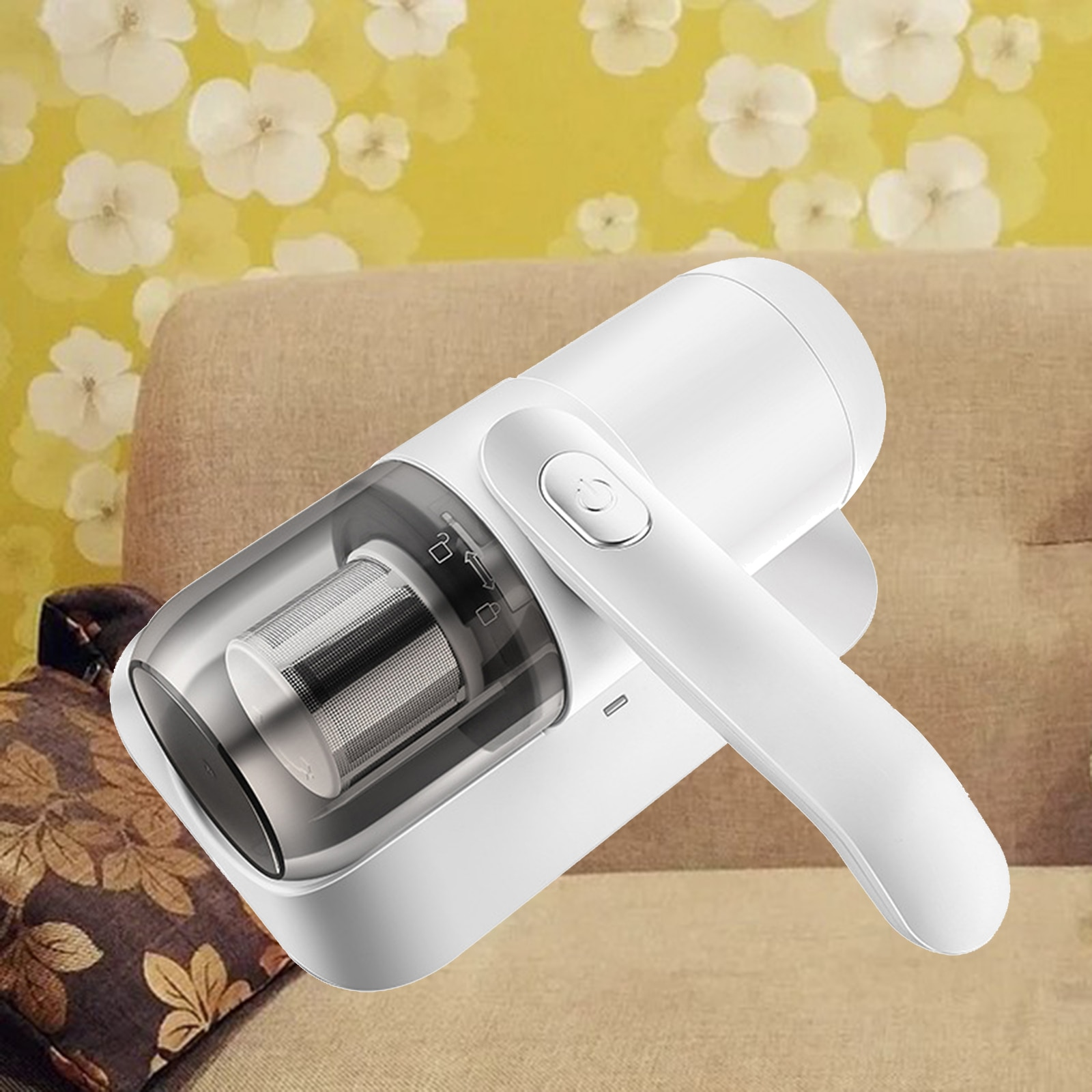 Handheld UV Mites Dust Vacuum Cleaner for Bed Sofa EU Plug with Cord