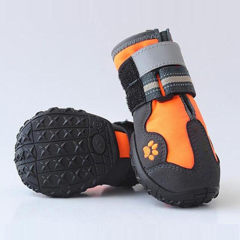 reflexiva botas de cachorro anti-deslizamento malha sapatos