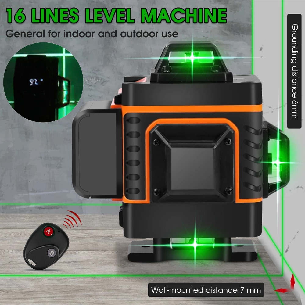 360 rotatable auto-nivelamento horizontal vertical linha transversal