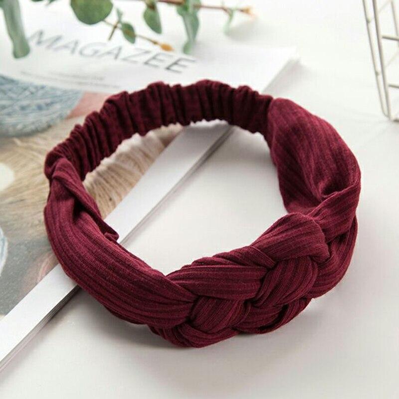 trançado bandana feriado étnico hairband acessórios para