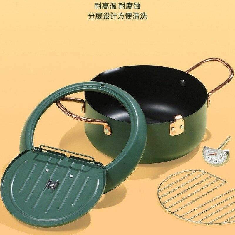 frigideira fogão a óleo pan frigideira universal não vara panelas