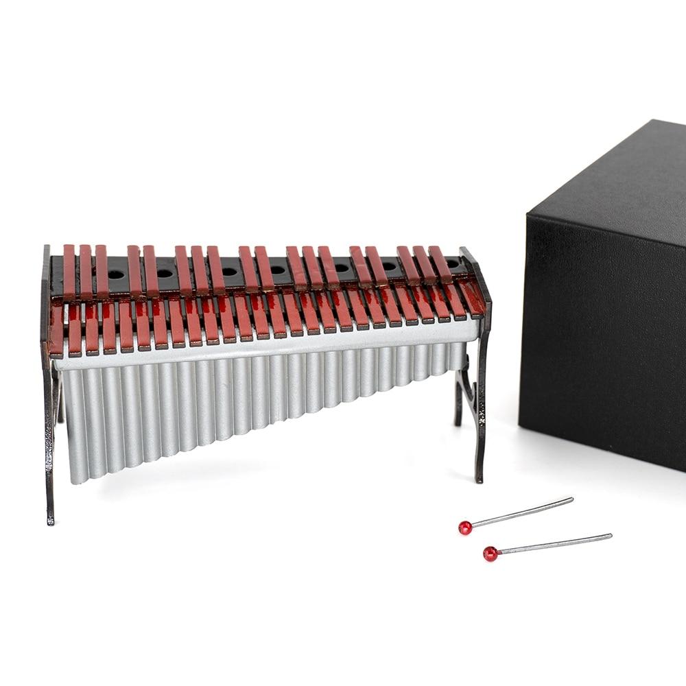12cm Miniatur Marimbaphon Xylophon Mini Musikinstrument Dekoration