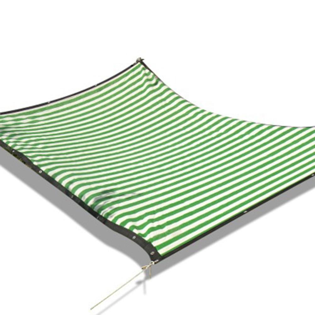 Verde e branco sombra pano resistente net