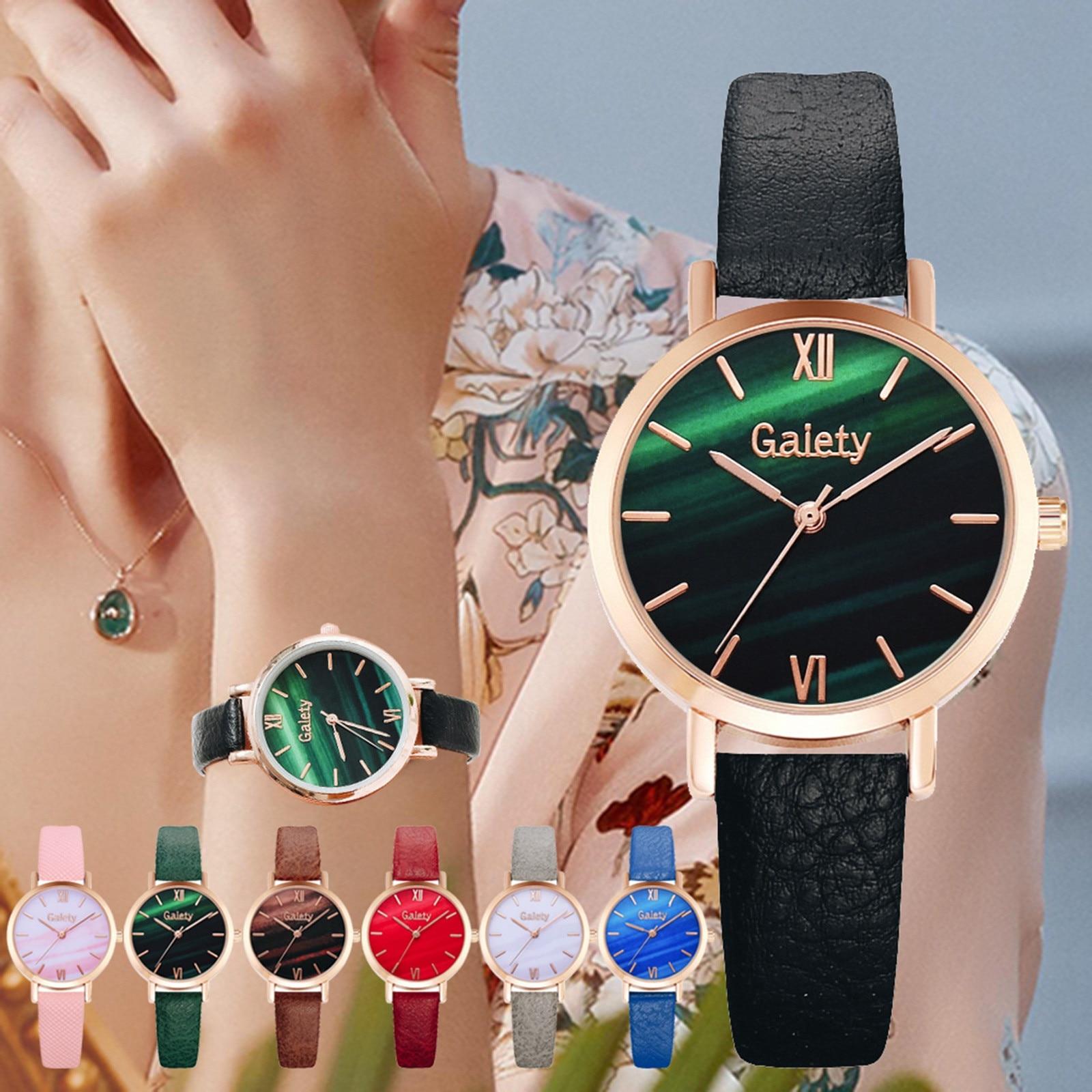 Ladies Bracelet Beautiful Watch Set Three-dimensional Flower 2021