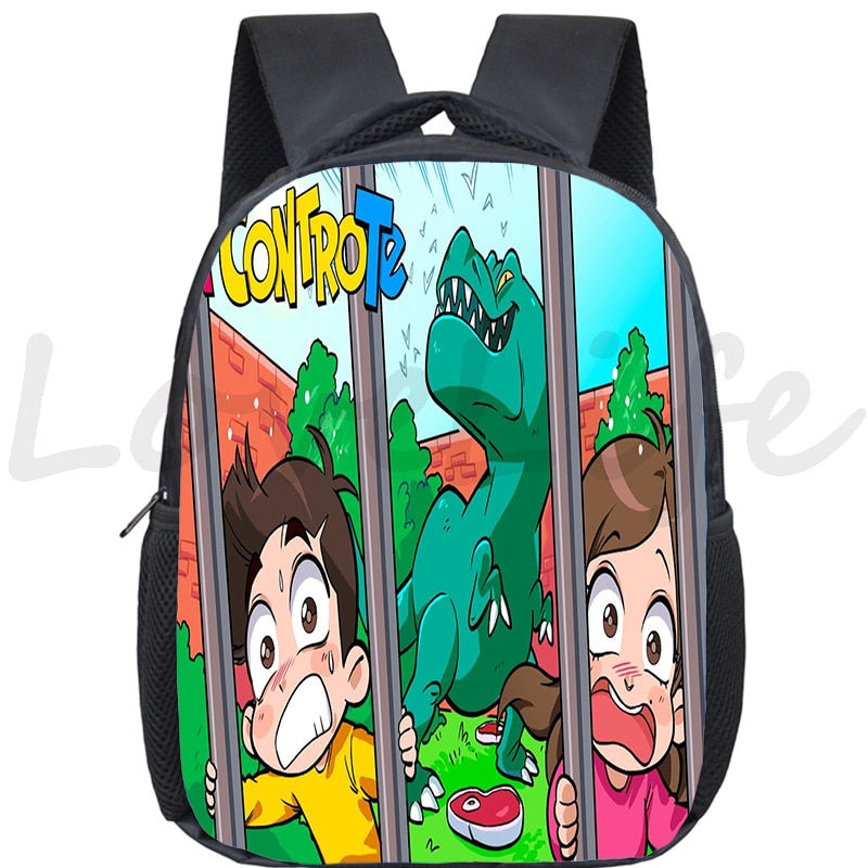 escola crianças bonito sacos do jardim de